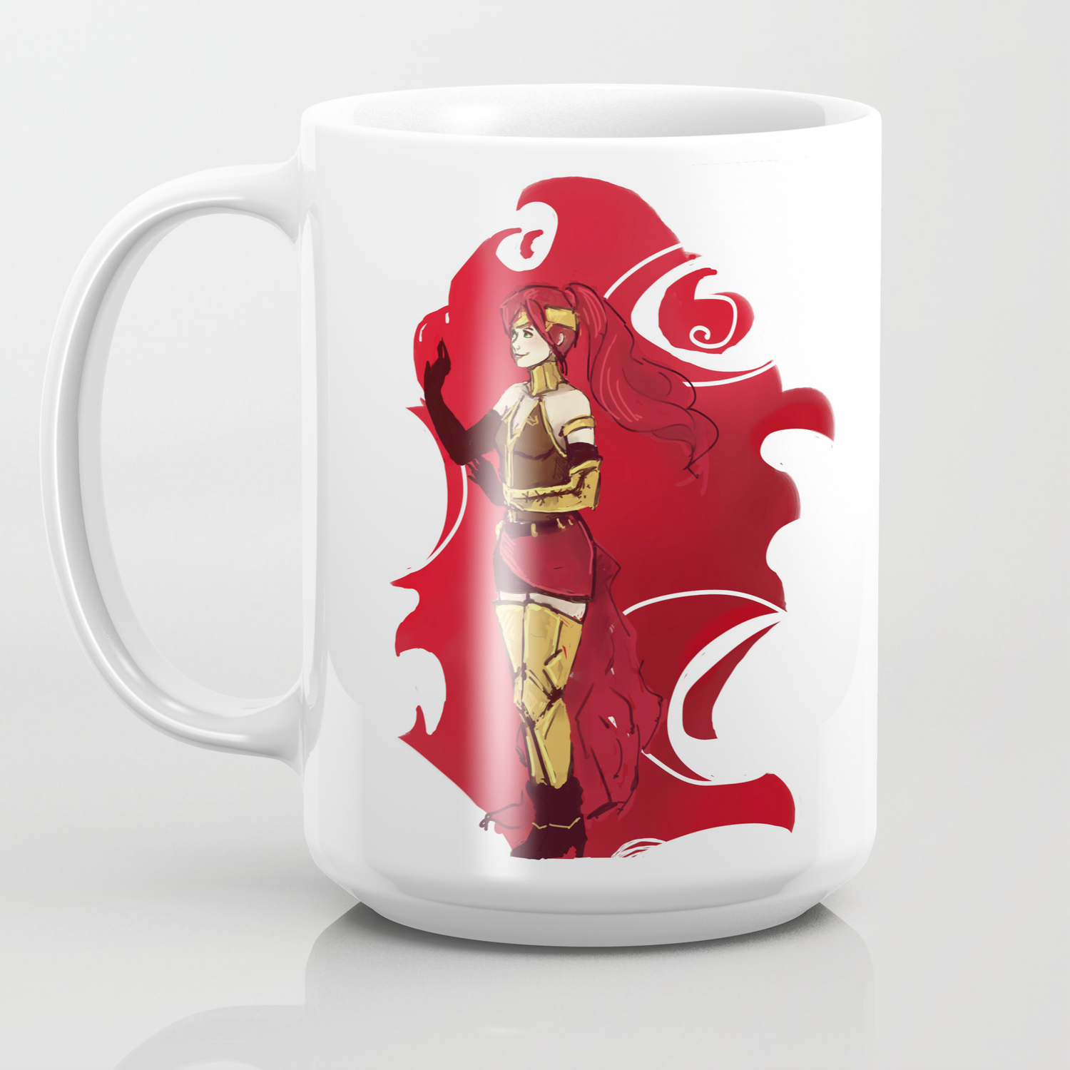 RWBY Pyrrha Coffee Mug