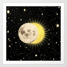 Imminent Eclipse Art Print