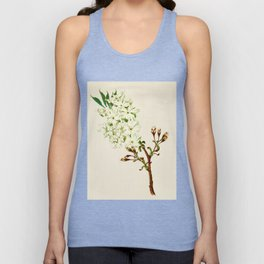 Gyoi-ko or Robe Yellow Cherry Blossoms Unisex Tank Top