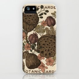 Botanic Garden iPhone Case