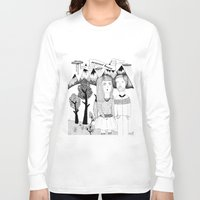 coconut wishes Long Sleeve T-shirts featuring COCONUT HEART by BOMOCOEUR