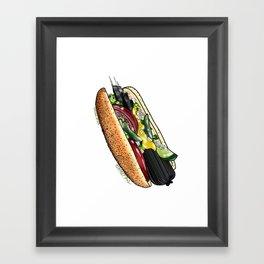 My Chicago Style Framed Art Print