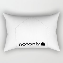 notonly house Rectangular Pillow