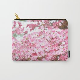 PRETTY PINK FLOWERS - DOGWOOD TREE 3 Carry-All Pouch