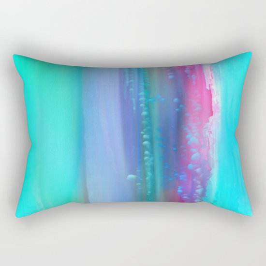 Ice Curtain 5 Rectangular Pillow