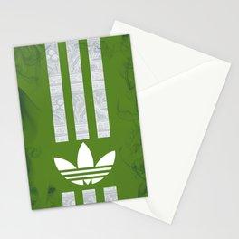 Unique Batik Adidas Army Green Case Stationery Cards