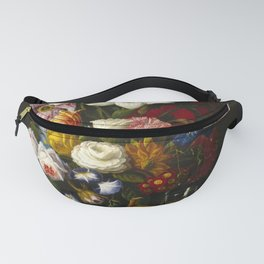 Victorian Bouquet by Severin Roesen Fanny Pack