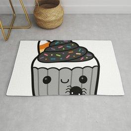 Spoopy Kawaii Cute Halloween Cupcake Rug