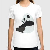 pandas T-shirts featuring Pandas by Alexandra Baker