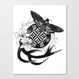 Acherontia Atropos - Hannibal Canvas Print