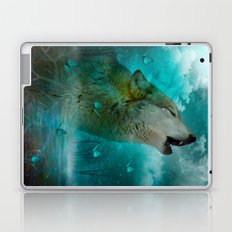 I'll See You In My Dreams (Cry of the Wolf) Laptop & iPad Skin