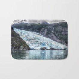 Portage Glacier - Alaska Bath Mat