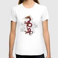 oriental T-shirts featuring Oriental Dragon by MacDonald Creative Studios