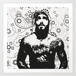 Jesus Piece #1 Art Print