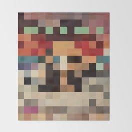 Pixel Paak Throw Blanket