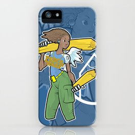 Pencil Warrioress iPhone Case