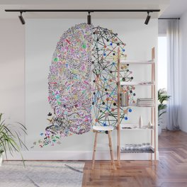 the Brain Wall Mural