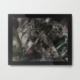 flesh wound Metal Print