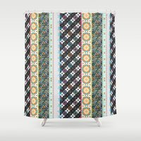 boho Shower Curtains featuring Boho by Designed by Debby