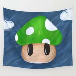 1Up in the Sky Wall Tapestry