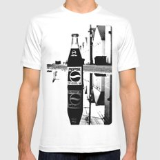 Reflected Pepsi Mens Fitted Tee White MEDIUM