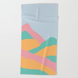 MOUNTAIN PGO Beach Towel