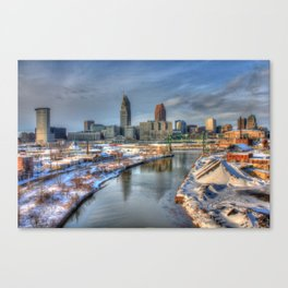 Once Upon Cleveland Canvas Print