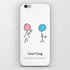 COURTING by ISHISHA PROJECT iPhone & iPod Skin