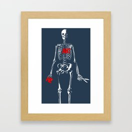 (HE)ART Framed Art Print