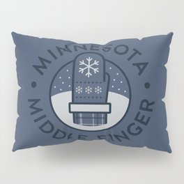 Minnesota Middle Finger Pillow Sham