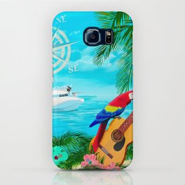 Tropical Travels iPhone Case