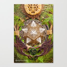 Earth Dragon Canvas Print