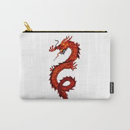 Mythical Red Dragon Carry-All Pouch