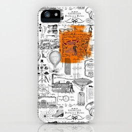 Looking Back to the Future iPhone Case