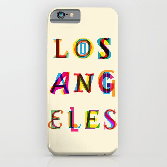 Los Angeles iPhone & iPod Case