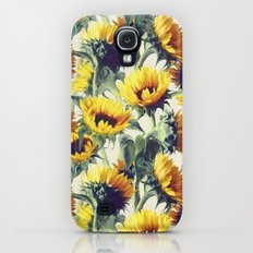 Sunflowers Forever Slim Case Galaxy S4