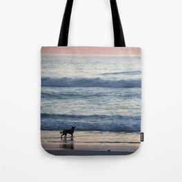 Chasing Waves Tote Bag