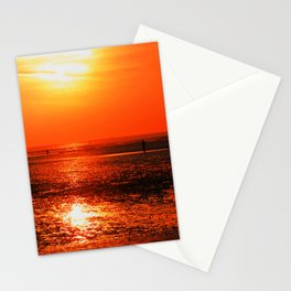 Three Gormley Statues Stationery Cards