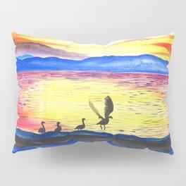 Summertime Geese Pillow Sham
