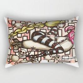 Bomb Girl Rectangular Pillow