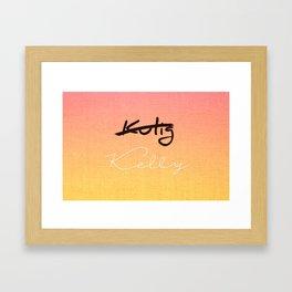 Kulig Kelly Framed Art Print