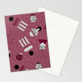 geometric IIII Stationery Cards