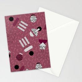 geometric IIII Stationery Cards