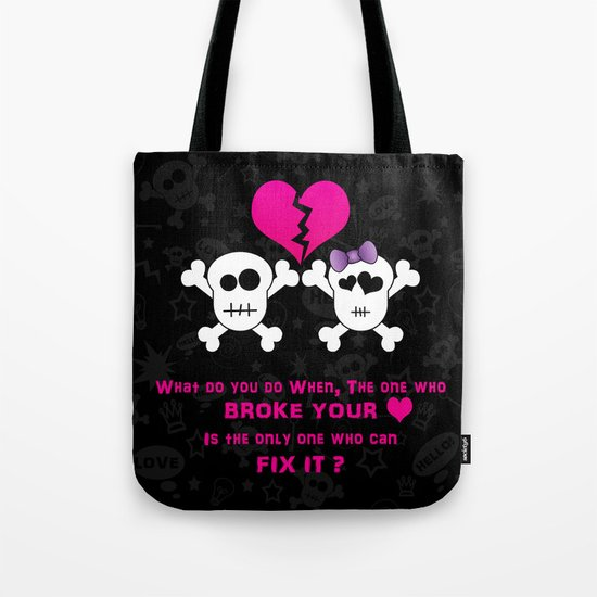 Broken Heart! Tote Bag
