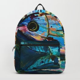 Fish Swimming Backpack
