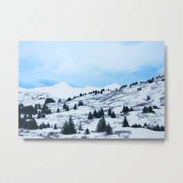 Winter Landscape Photography Print Metal Print