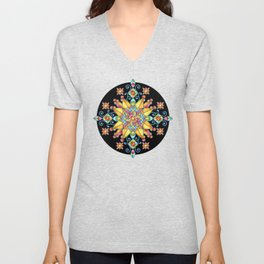 Alhambra Stained Glass Unisex V-Neck