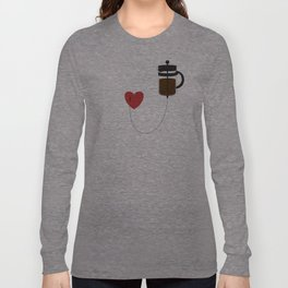 IV Coffee Long Sleeve T-shirt