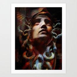 The last moments of Medusa Kunstdrucke