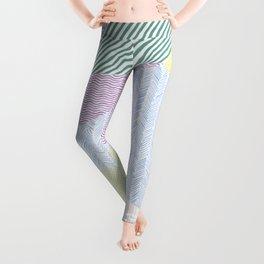Chalk Patterns Leggings